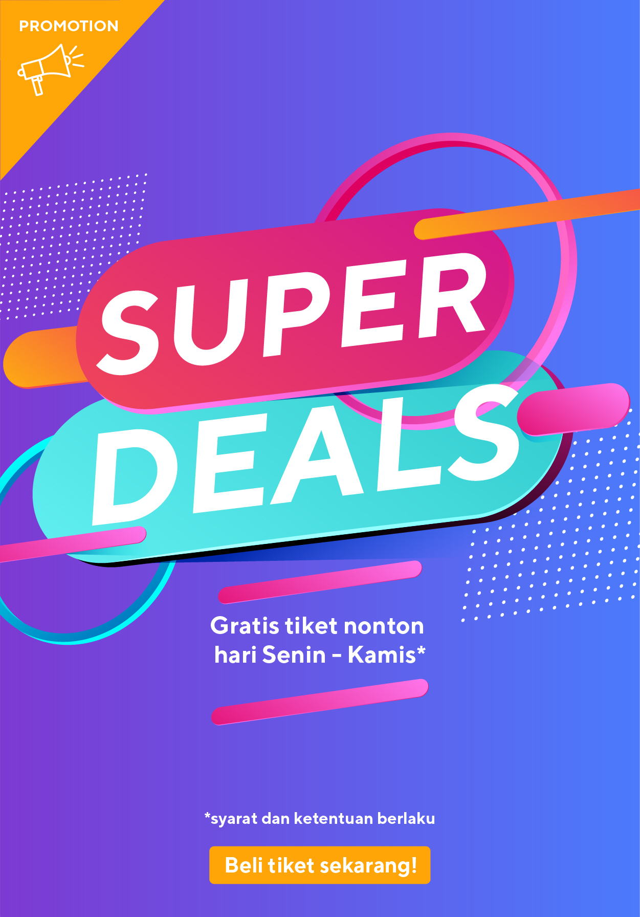 Cinemaxx Theater Promo Super Deal Beli 2 Gratis 1 - Cinemaxx Coupons
