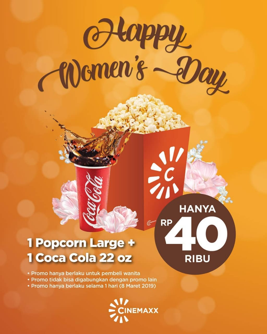 Cinemaxx Theater Promo Spesial Women 39 S Day Beli Paket - Cinemaxx Coupons