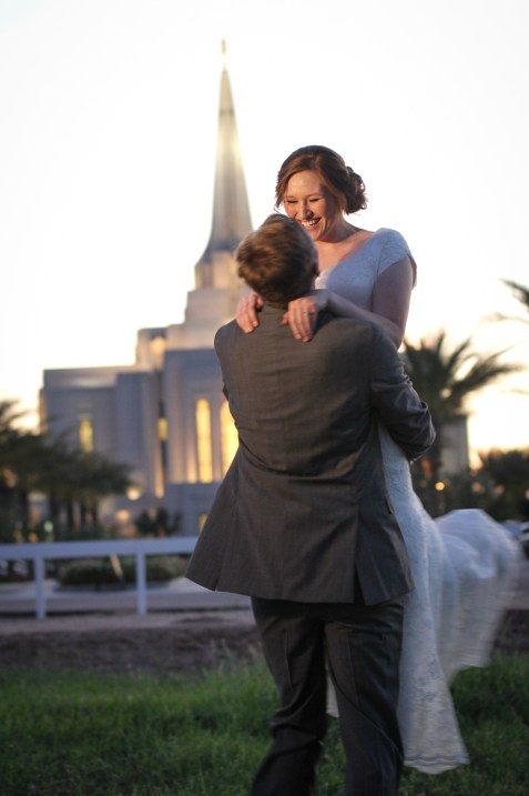 Gilbert Temple Wedding Photography