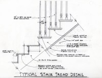 Typical Stair Tread Detail | Gilfillen Architect