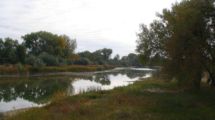 Platte River near Fort Laramie, Wyoming