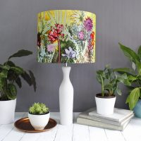 Tropical Sunshine | Yellow & Pink Lamp Shade For The ...