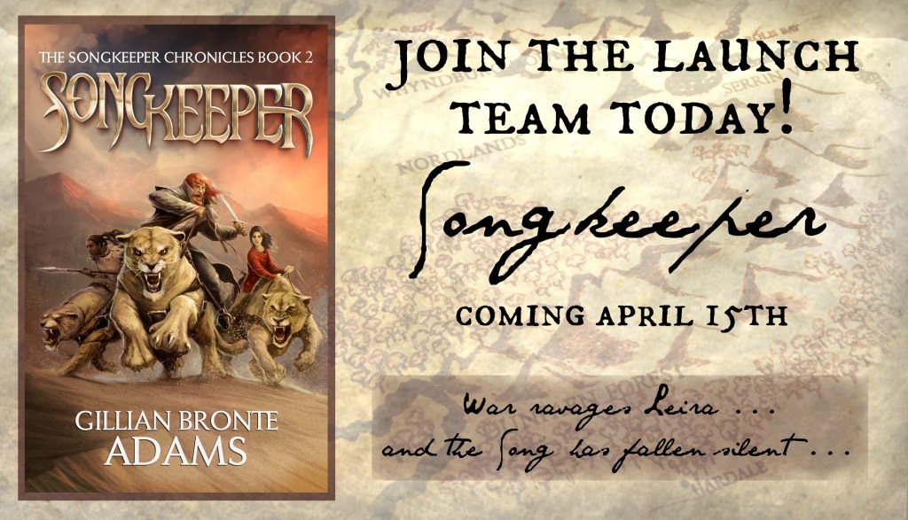 Songkeeper Launch Team promo graphic