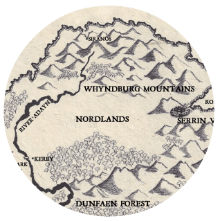 Map - Whyndburg Mountains