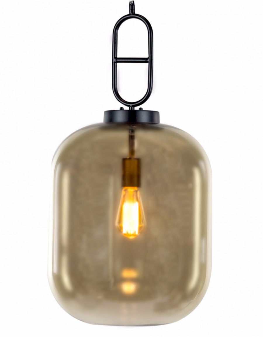 Glass Edison Lamp Gold Glass Edison Lamp Pendant