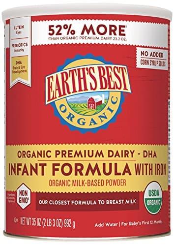 Organic Baby Formula Guide Gimme the Good Stuff