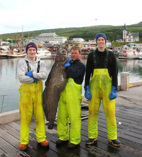 BIGGEST SPOTTED CATFISH IN ICELAND