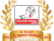 G. Ingason Seafood 25 Years old