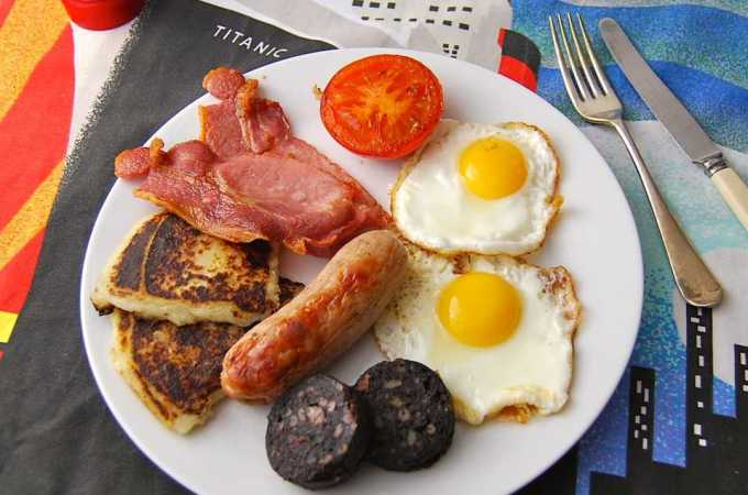 Classic Ulster fry
