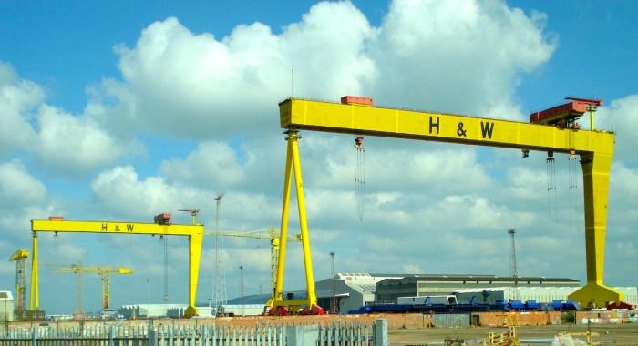 Belfast Titanic Dry Dock New