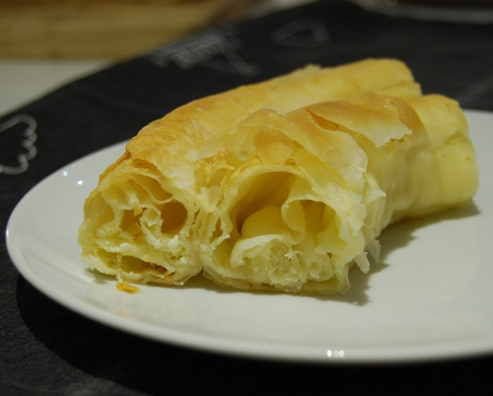 sirnica cheese filled filo