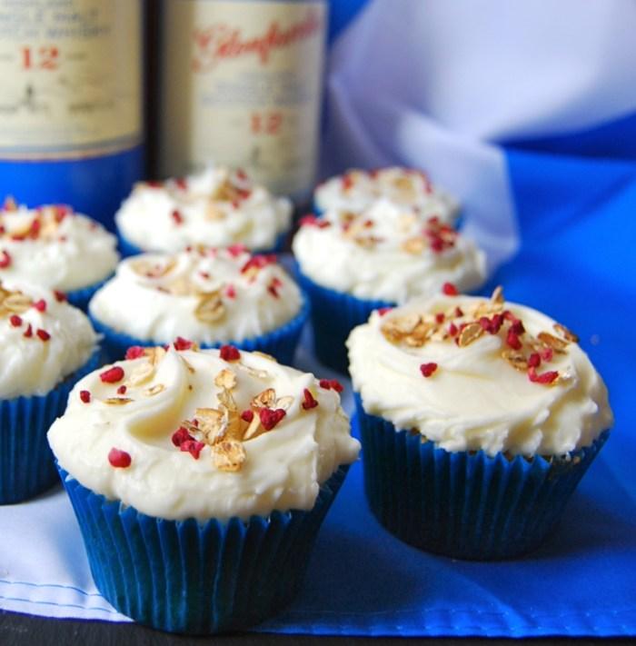 2 Cranachan Cupcakes - Ginger&Bread