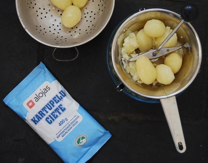 potato ricer or moulin