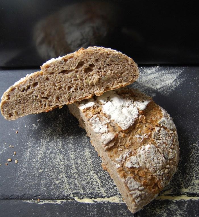 Spelt and Rye bread
