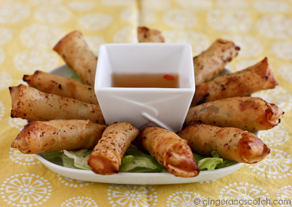 Curry Spring Rolls