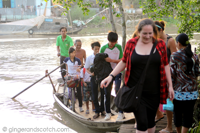 Mekong Homestay - Crossing the River