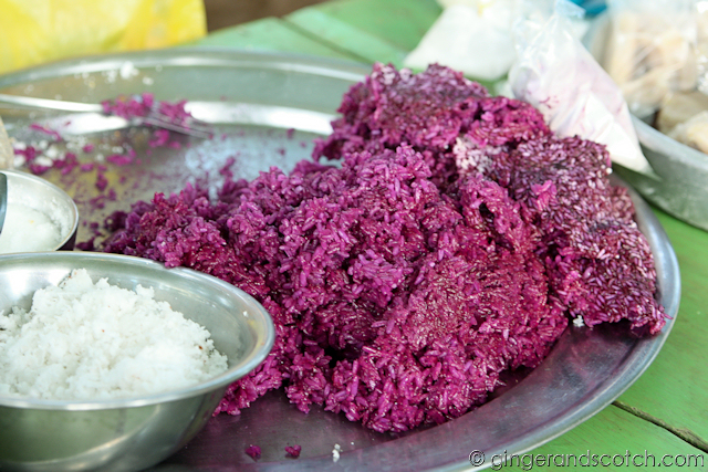 Mekong Homestay - Market - Purple Rice 2