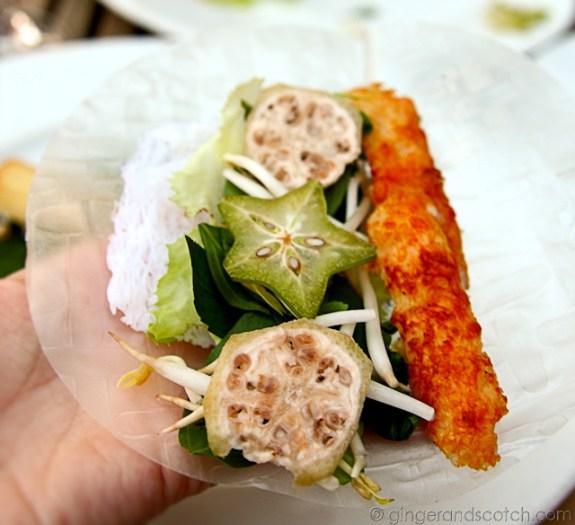 Shrimp on Sugar Cane