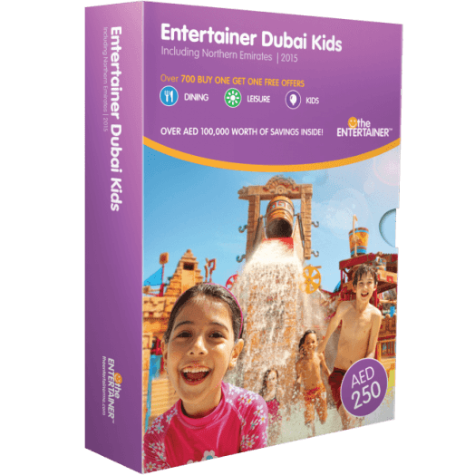 Entertainer Dubai Kids 2015