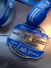 BMO Vancouver Marathon Medals