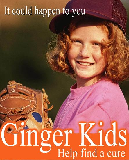 Gingervitis an epidemic The Red Scare
