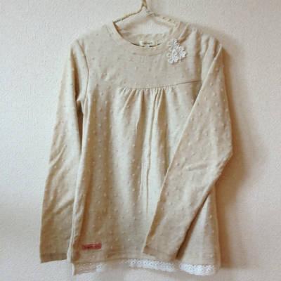 ロンTシャツ裾