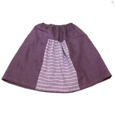 リボン付きギャザースカート後ろ側