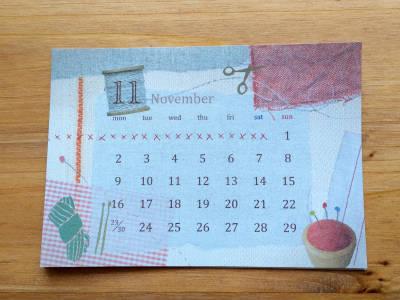 calendar2015 11月