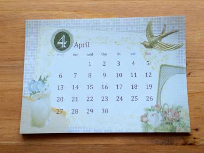 calendar2015 4月