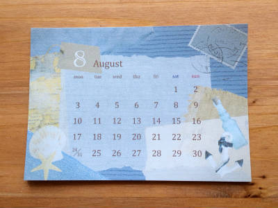 calendar2015 8月