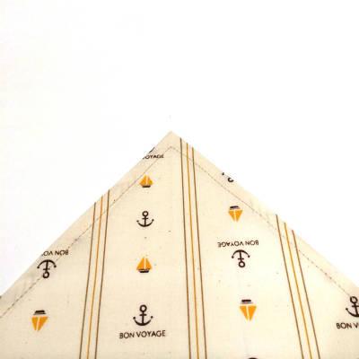 三角巾の角