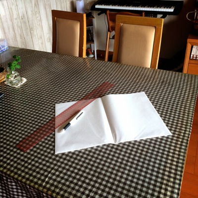 折りたたみタイプのハトロン紙