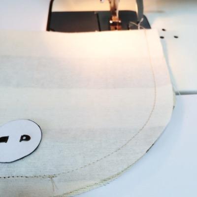 フタ縫い代