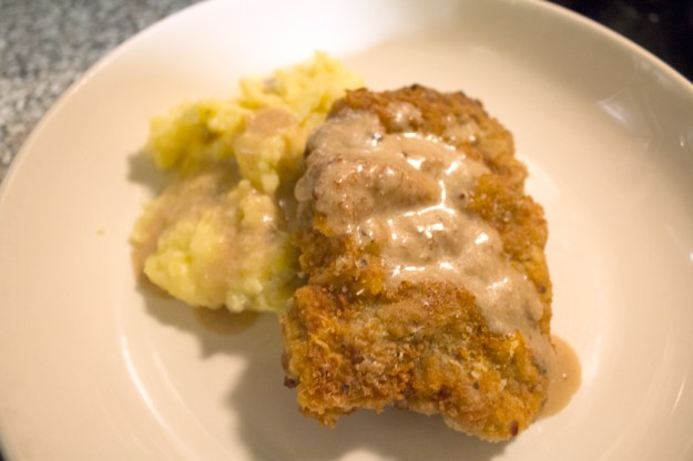 Country Fried Steak with Cream Pan Gravy - Ginnefine | The Blog