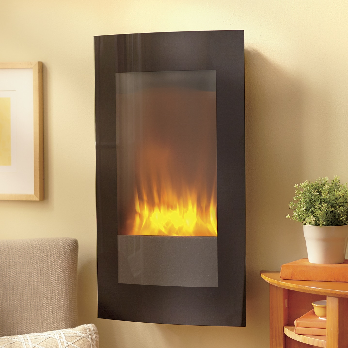 Wall Mount Fireplaces Wall Mount Led Fireplace With Stand Ginny S