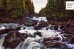Rivière et rochers