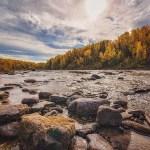 La rivière Rimouski et l'automne