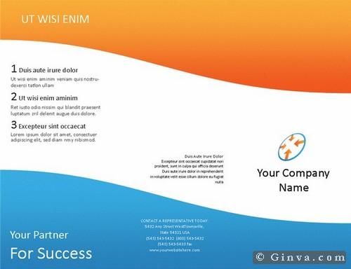 microsoft office brochures