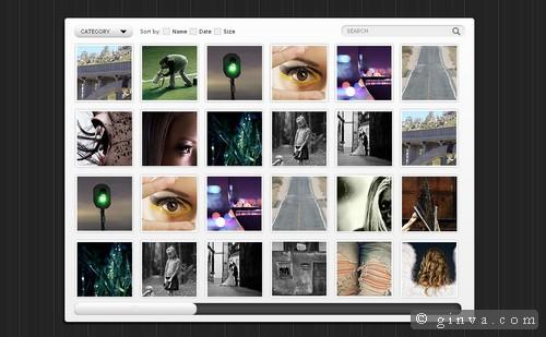 Image Gallery Html Css Template - LTT