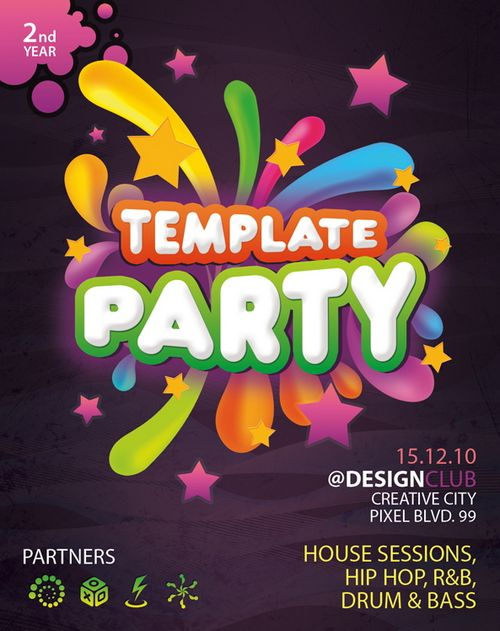 Download 30 Free Poster / Flyer Templates in PSD Ginva