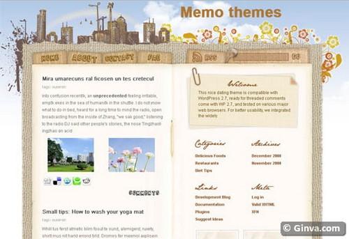 50 Handpicked Beautiful Free Blogger Templates Ginva - Nice Templates