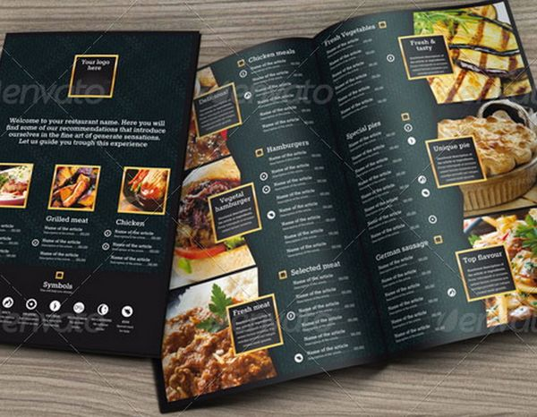 30+ Food Menus Templates for Café and Restaurants Ginva - food menu template