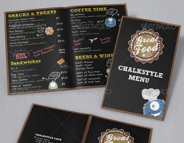 Menu Design, Development and Psychology Menu Design - coffee menu