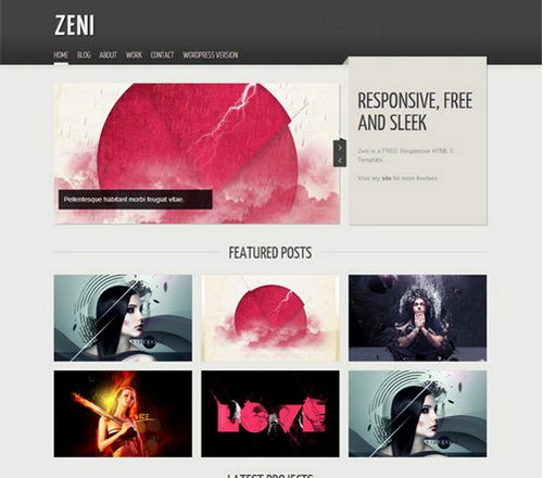 40+ Free Portfolio Templates Design (CSS/HTML) Ginva - online portfolio template
