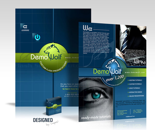 30 Creative And Modern Brochure Designs Ginva - modern brochure design