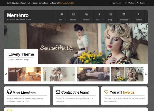 25 Free and Premium Portfolio Website Template Ginva - nice templates