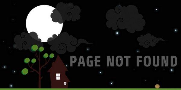 20 Creative HTML/CSS 404 Templates Ginva
