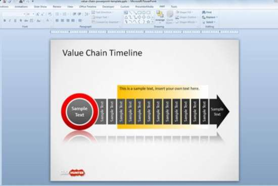 20 Free Timeline Slides PowerPoint Templates Ginva - timeline slide powerpoint