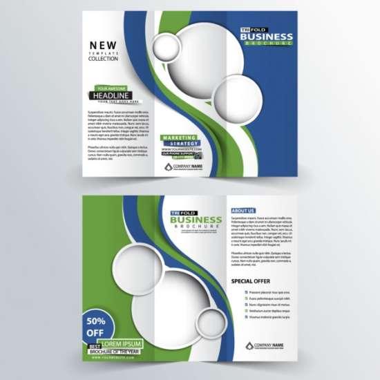 50 Free Attractive Tri fold Brochure Templates Ginva - tri fold business brochure