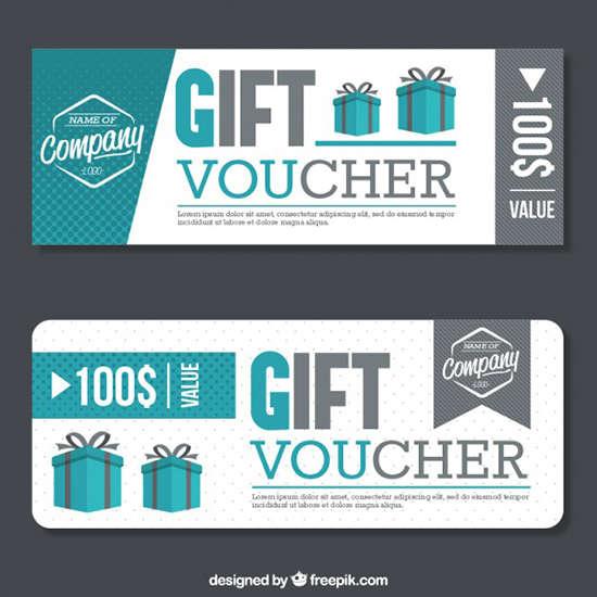 15 Free Editable Gift Vouchers Templates Ginva